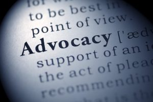 Fake Dictionary, Dictionary definition of the word Advocacy.